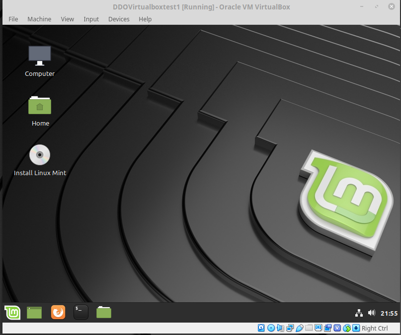 Linux Mint Boot