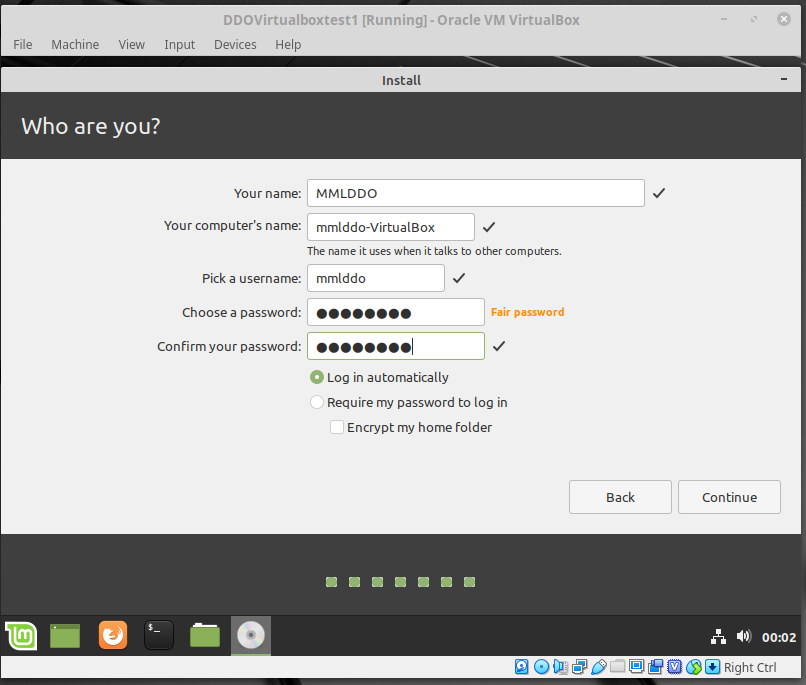 Linux Mint Name